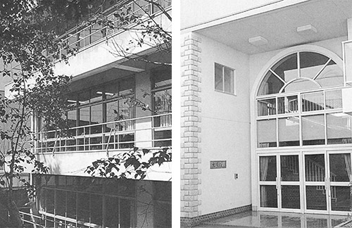 再建された校舎