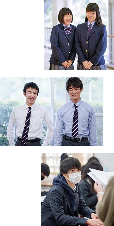 大東学園の制服①
