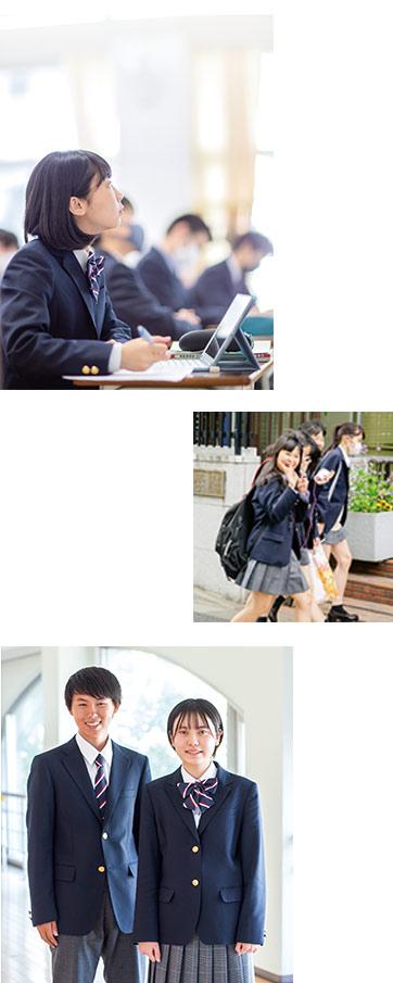 大東学園の制服③